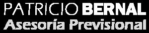 Logo Patricio Bernal blanco
