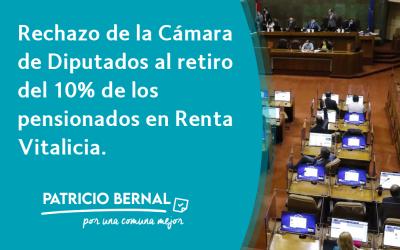 El lamentable rechazo de la Cámara de Diputados al retiro del 10% de los pensionados en Renta Vitalicia